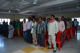 """Workshop on """"CARING & BEING ALERT TOWARDS CHILD SAFETY"""" for the Support Staff"""